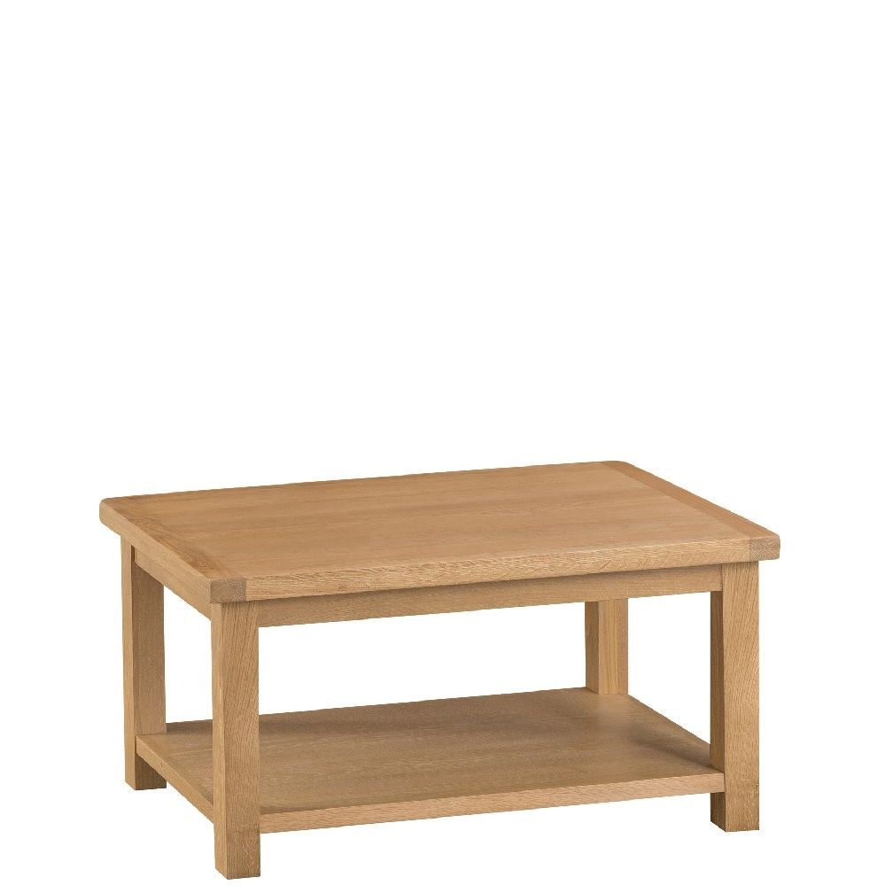 Oak Root Coffee Table: Coffee Table - Blueberry Square