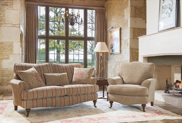 Alstons Loire Sofa and Standard Chair
