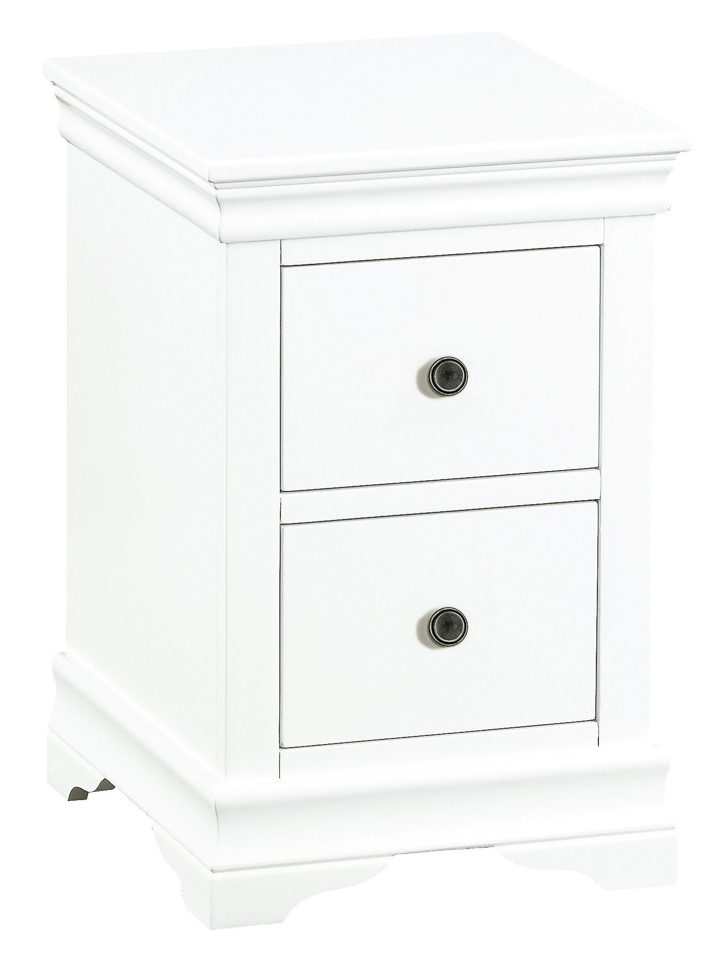 White Painted Small Bedside Cabinet