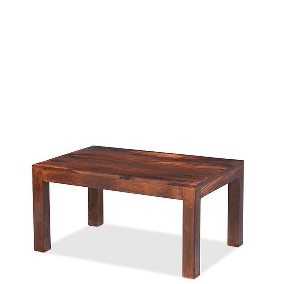 Talaja cube coffee table for Wood cube coffee table set